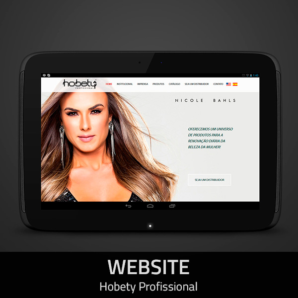 Website Hobety Profissional