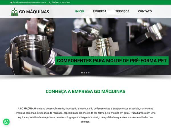 GD Máquinas Site