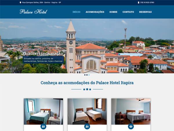 Palace Hotel Itapira Site